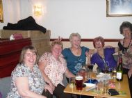 Elaine, Elaine, Eileen, Heather & Doris